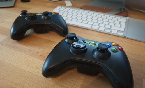 how to connect xbox 360 controller to mac