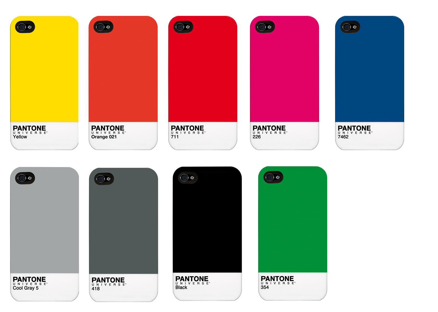 pantone cases mehr farbe f rs iphone 4 4s gdgts. Black Bedroom Furniture Sets. Home Design Ideas