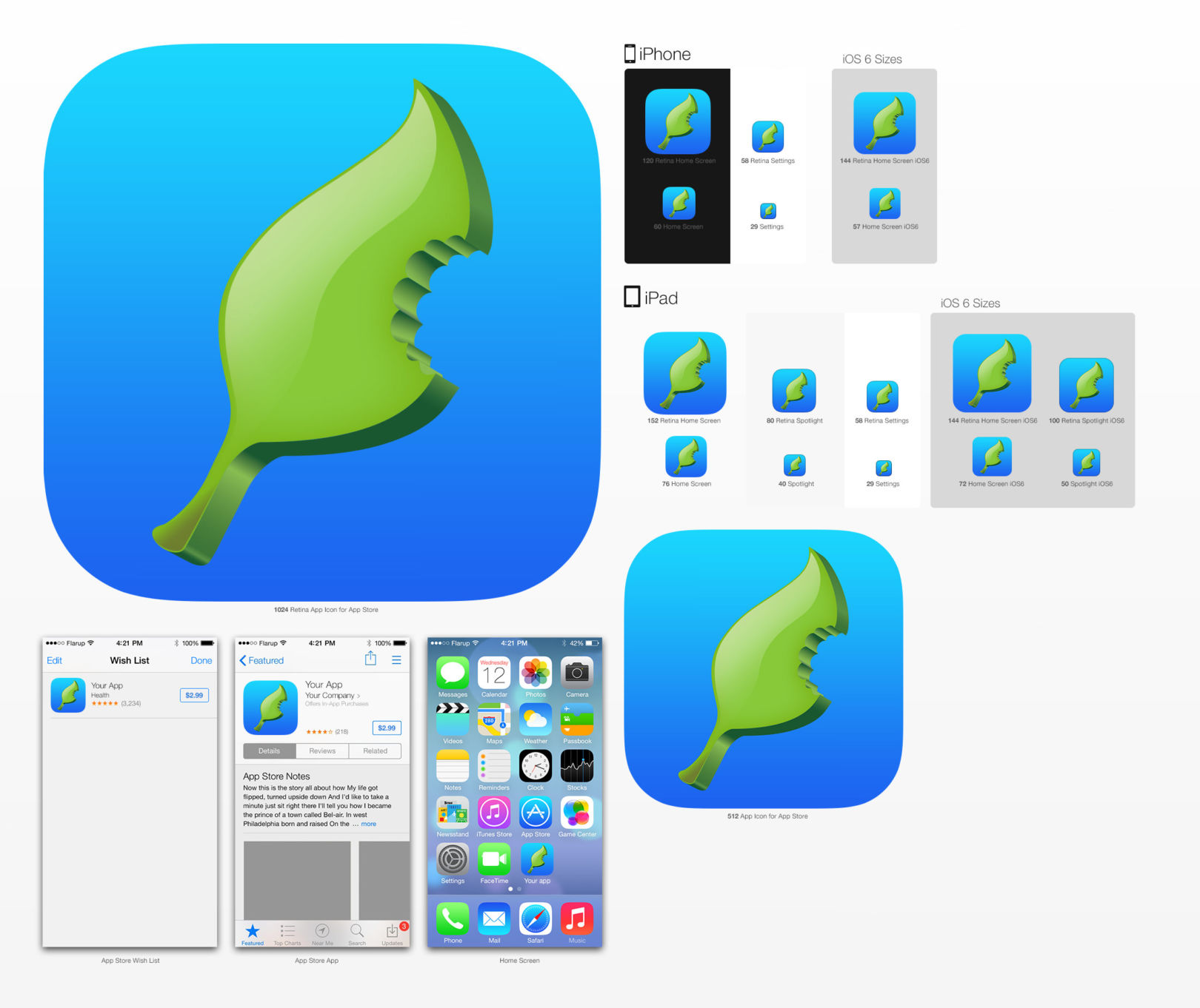 Gdgts iOS 7 Icons