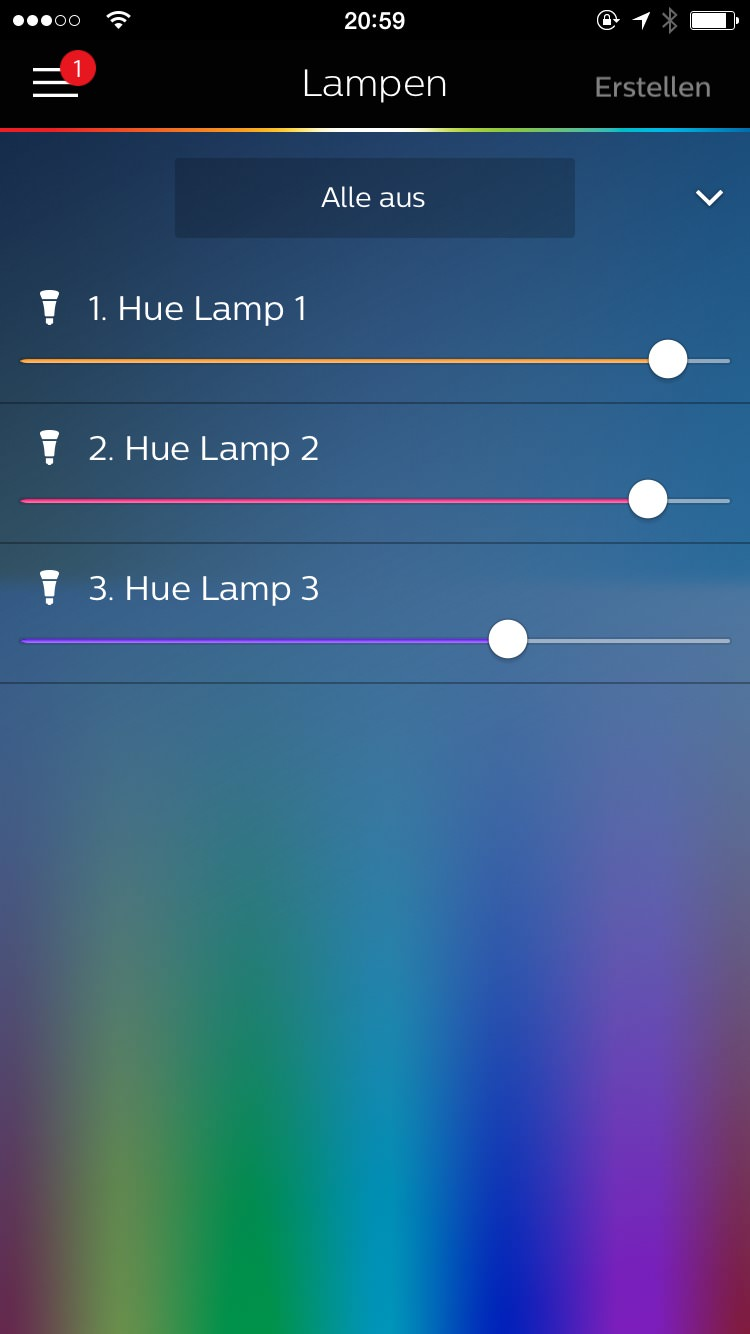 philips hue alternativlos starterkit ausgepackt gdgts. Black Bedroom Furniture Sets. Home Design Ideas