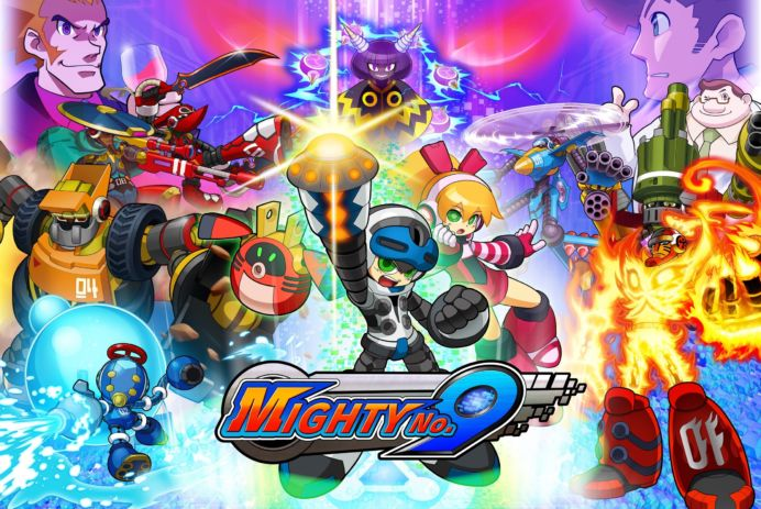 Mighty No 9 Cover Art