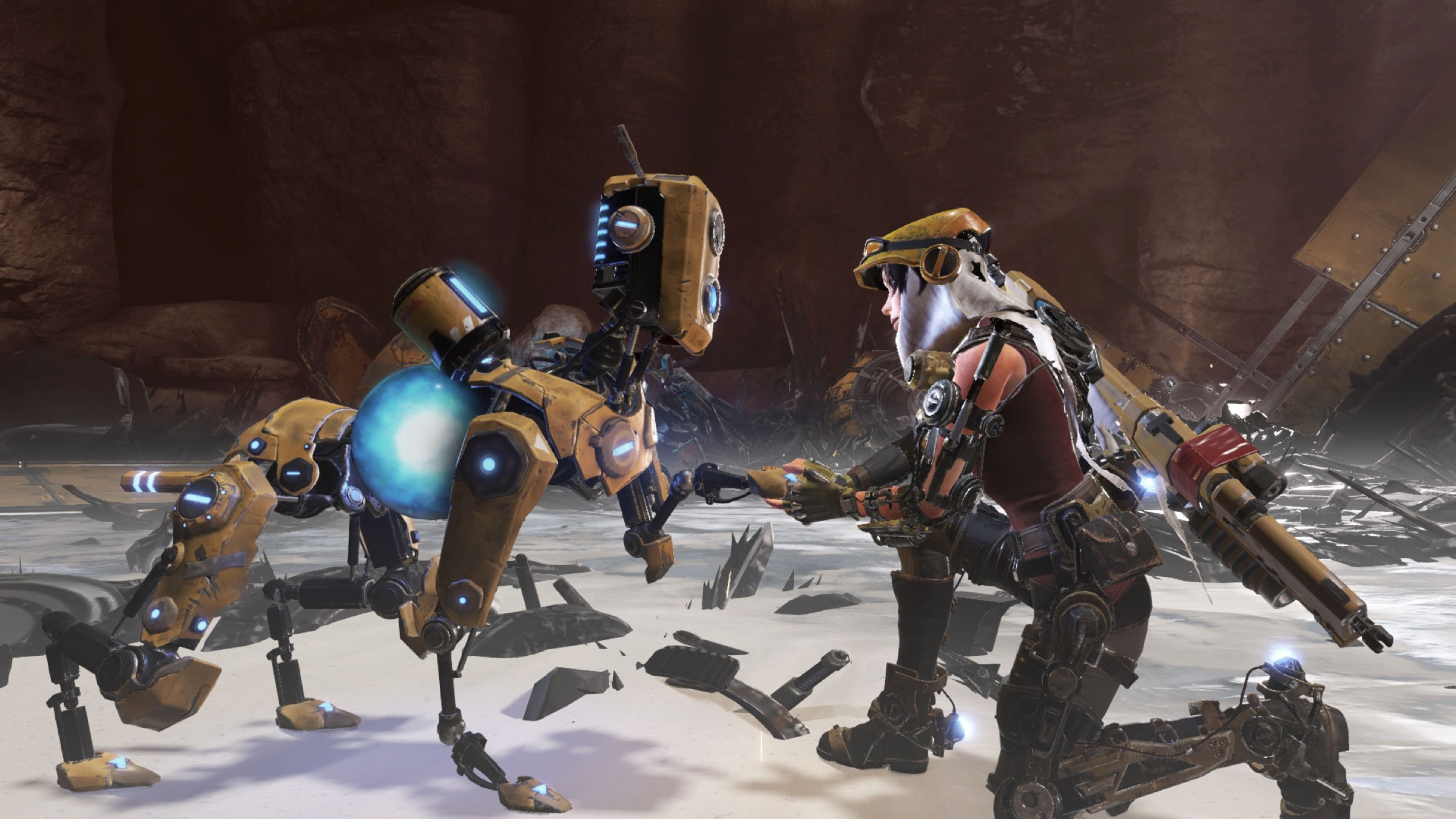 ReCore Joule and Mack