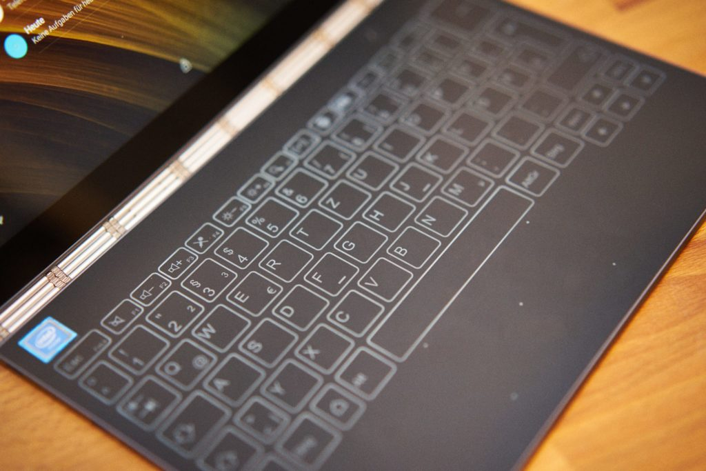 Lenovo Yoga Book Halo-Tastatur