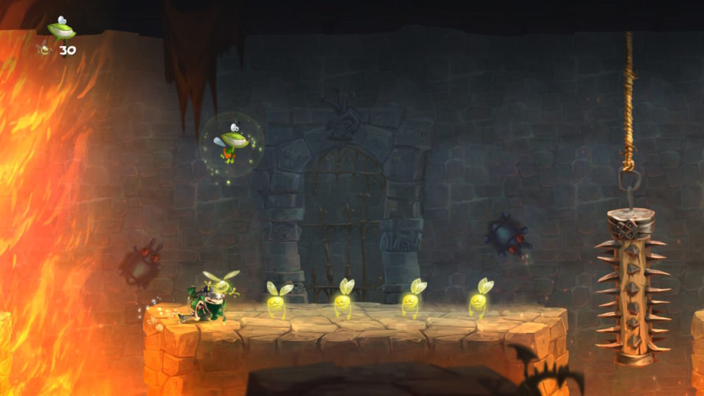 Murphys Touch in Rayman Legends Definitve Edition